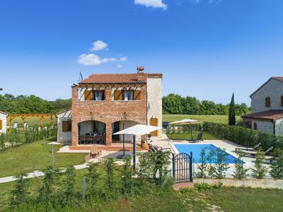 Photo for Family villa with Pool and Children park
