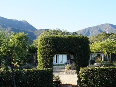 Photo for Sunny Santa Barbara Cottage With 4 bedrooms & 3 baths, Gardens & Ocean View