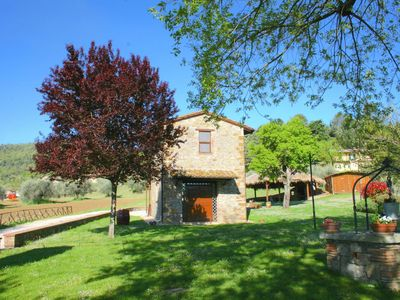 Photo for Cottage in Magione with Pool, Garden & BBQ