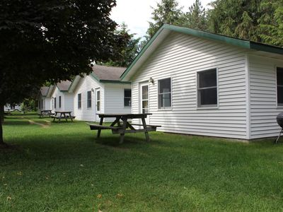 Photo for INTERMEDIATE LAKE - cabin #3 Holiday Shores Bellaire/Central Lake area