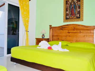 Photo for Double room with balcony and Swimming pool B&B Dolce Vita Caribe Playacar