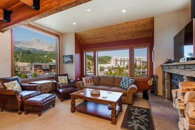 Family room with amazing views!