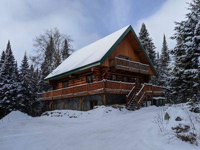Photo for Chalet Lilas 4 bedroom Log cabin Retreat