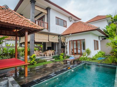 Photo for 2BR Lovely Ricefield View Villa Ubud #11