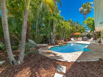 Photo for Our Place By the Sea: Super N. End Location, Ground Level, Private Heated Pool!!