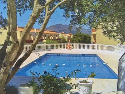 Photo for ROSAS, House very well equipped, Pool, private garage, children welcome