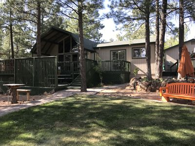 Photo for Updated 3 Bedroom Retreat In The Cool Pines