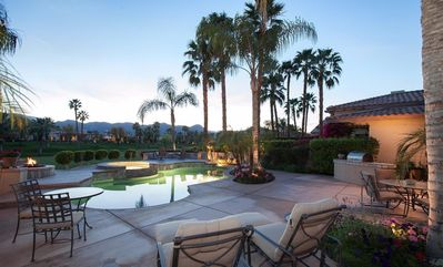 Photo for Incredible Sunsets, Beautiful location & home in sought after Rancho La Quinta