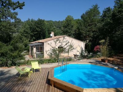 Photo for Le Petit Mas with swimming pool in nature