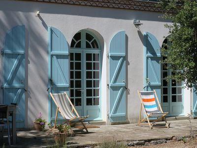 Photo for Charming house Jard sur Mer near beaches, sea and center