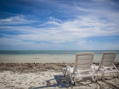 Photo for Ocean Front Keys Home with Private Beach - Great for Kite Surfing!