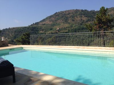 Photo for Enjoy nature in all privacy with pool. Beautiful view on vinyards and sea.