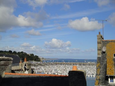 Photo for Rent apartment st malo sea view