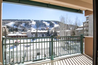 Balcony - Welcome to Vail! Your rental is professionally managed by TurnKey Vacation Rentals. Mountain views from the private balcony