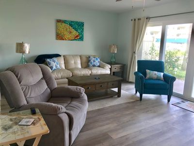 Photo for Healing Sands @ Oceanside Village-Completely Renovated 2/2.5 Steps to the Beach!