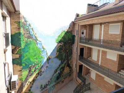 Photo for Nice central and cozy apartment ideal couples and families in Madrid neighborhood.