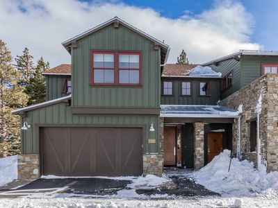 Photo for Stylish townhome in new development with unobstructed mountain views and hot tub access