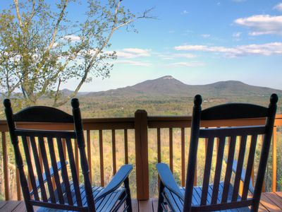 Photo for Spectacular View, Deluxe 3BR Cabin!