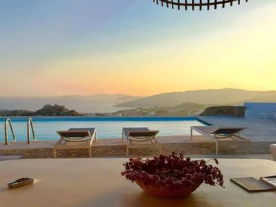 Photo for Beautiful villa in Mykonos near Super Paradise beach, with 3 bedrooms, 7 sleeps.
