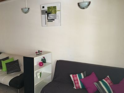 Photo for Lovely spacious apartment F2 Fort-de-France calm Located wifi air conditioning