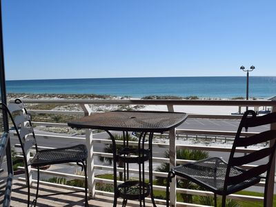 Photo for Relax on Your Balcony with Sweeping Views of the Beach and Gulf of Mexico.