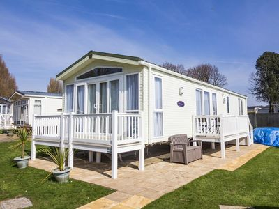 Photo for Luxury 6 berth caravan for hire at Hopton Haven holiday park in Norfolk - 80007