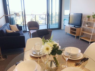 Photo for Prime Location Sydney Eastwood 2BRs, Free Parking + 3 mins walk to train station