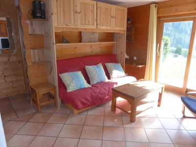 Photo for 1BR Apartment Vacation Rental in Les Houches