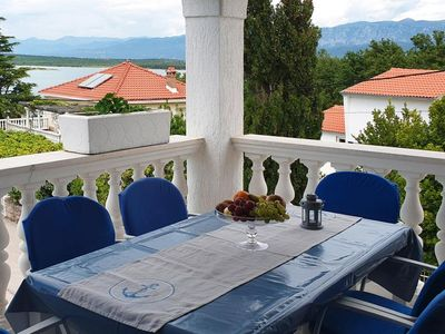 Photo for Apartments home Emilia, Klimno  in Krk - 5 persons, 2 bedrooms