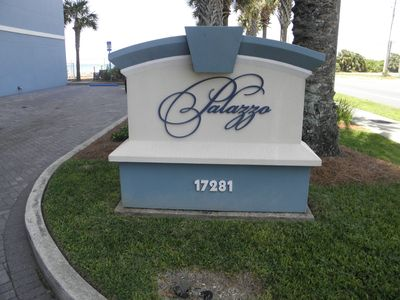 Photo for Palazzo Condominiums located DIRECTLY on the beach! VERY AFFORDABLE!