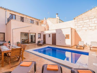 Photo for Reformed Town House for 8 people with private pool in Sa Pobla