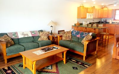 Photo for Family Friendly Beautiful Townhouse W/ Amazing Views & Walking Distance To Town