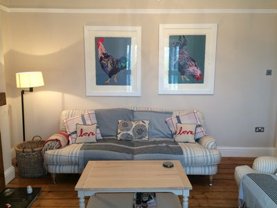 Photo for Boutique Cottage in the heart of Mumbles with parking - family & dog friendly!