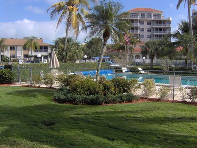 Photo for Great Vacation Condo on Water, Walk to Beach!, Ground Floor