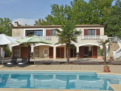 Photo for Beautiful, modernly decorated Provençal house only 30 kilometres from Cannes