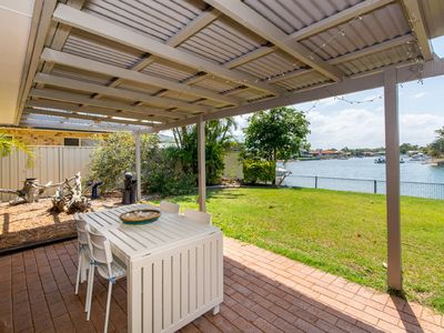 Photo for Lowset home on the canal -  Dolphin Dr, Bongaree