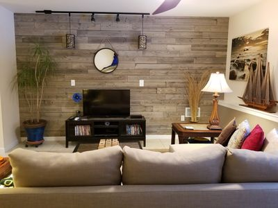 New shiplap wall in Beth's Place!