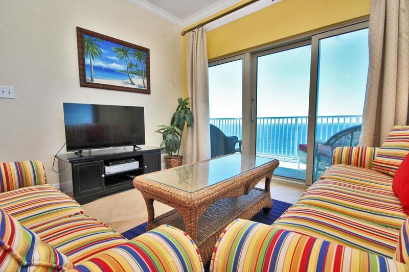 Penthouse at Crystal Tower!  Unit 2009 is a TOP FLOOR CORNER UNIT!  180 Degrees of Beach Views at a Luxury Complex in the Heart of Gulf Shores!  Complimentary Wi-Fi adds to this Beautiful Condo!