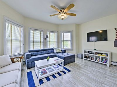 Photo for NEW! Nautical Cape May Condo - Walk to the Beach!