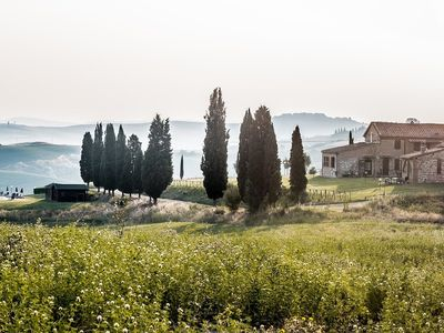 Photo for 2BR Apartment Vacation Rental in Asciano, Toscana