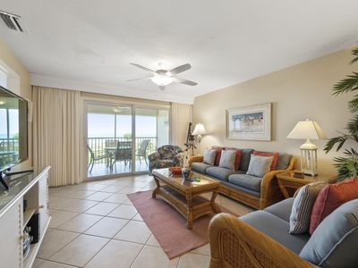 Photo for Gulf Beach 205, Gulf Front View, Top Floor, Completely Renovated Condo