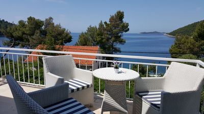 Photo for Holiday house Villa Antea  - Brna, Island Korcula, Croatia