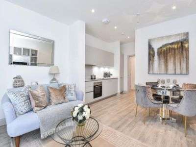 Photo for New contemporary 1 bed flat with outside patio in beautiful & leafy Chiswick W4.