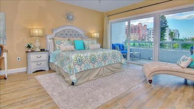 Photo for Stunning Waterfront with a French Country Coastal Style in Clearwater Beach!