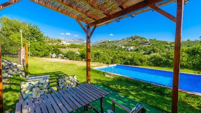 Photo for 4-people holiday home with views and garden in Frigiliana