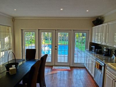 Photo for Beautiful 4 Bed 2.5 Bath home with Pool, Located in 2 miles from Hollywood Beach