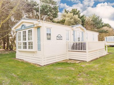 Photo for 6 berth caravan for hire at Broadlands holiday park in Suffolk ref 20158