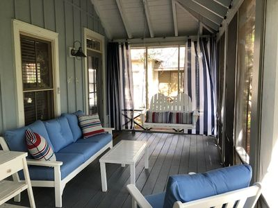 Photo for Magnolia Cottages by the Sea- Steps to the Pool, 2 King 1 Queen Bed!