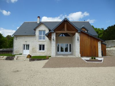 Photo for SPACIOUS COTTAGE CLOSE TO CASTLES OF THE LOIRE AND THE ZOO 1 H BEAUVAL