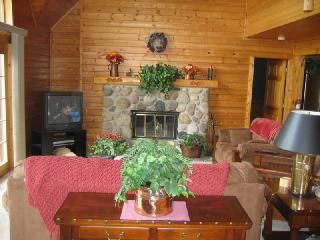 Photo for Beautiful Log Home on West Grand Traverse Bay